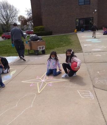 Chalk Art Surprise