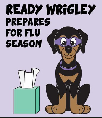 Click on Wrigley for Child Friendly Activity Pack with Flu Facts