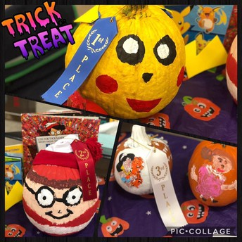 STORYBOOK CHARACTER PUMPKIN DECORATING CONTEST