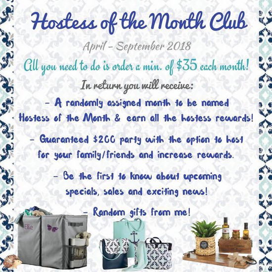 Thirty One Gifts April 2018 Customer Special - Gift Ideas
