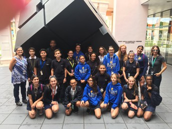 MYP Art Students Go to Boca Raton Museum of Art