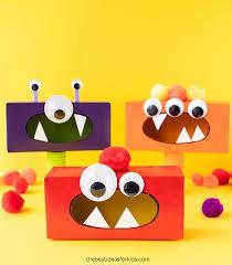 Tissue Box Monters: