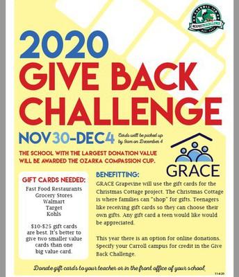 2020 Give Back Challenge