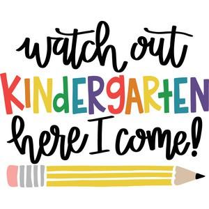 I'm Ready For Kindergarten!