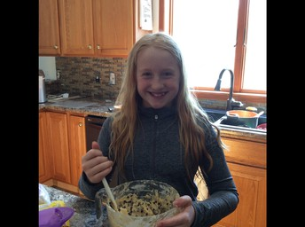 Joy made cookies!