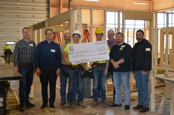 Hunter Branyan gets recognition for carpentry experience
