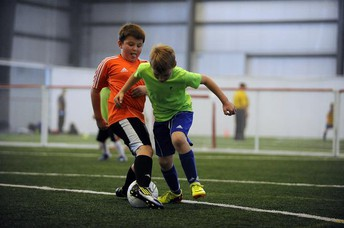U9/U10 Boys and Girls 7 v 7 tournament indoors.