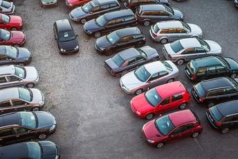 Parking near Vicarage Lane.