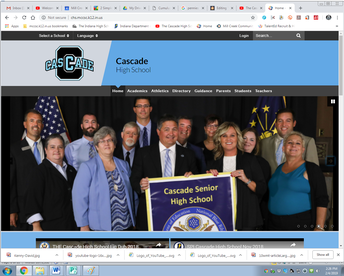 Click the logo for CHS Website