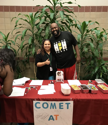 Hearne is a COMET campus. Sign up with Ms. James today!