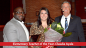 Elementary Teacher of the Year-Claudia Ayala