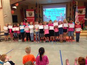 3rd Grade PAWS Award Winners