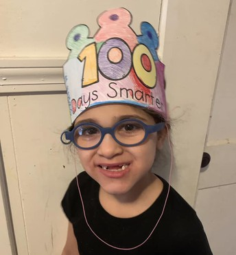 100th day of school portrait
