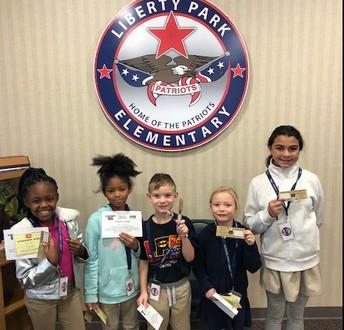 Soaring Eagle Badge Winners!