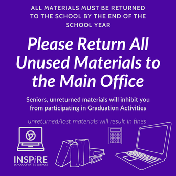 Return Materials to the Main Office