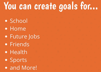 Goals can be different for everyone!