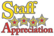 STAFF APPRECIATION - THANK YOU