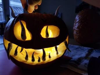 Scariest Pumpkin Winner