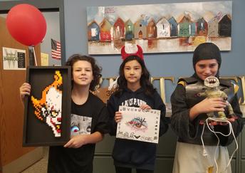 Spooky Art Contest Winners