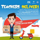 PTA Teacher Appreciation Week 2017