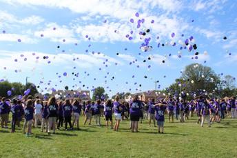 Class of 2025 Balloon Release