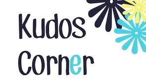 Grades 6-12 Kudos Corner