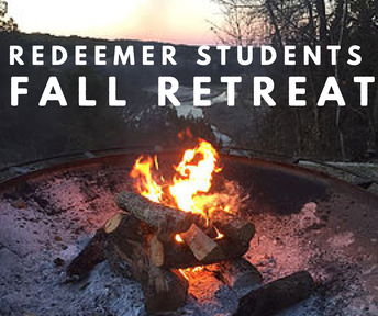Fall Retreat Deposit due now