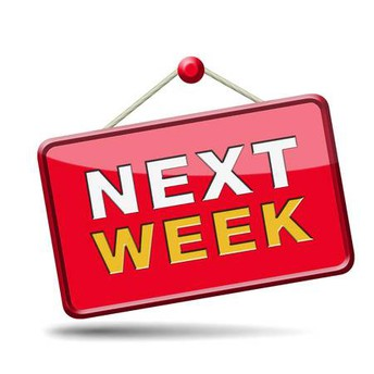 School schedule next week