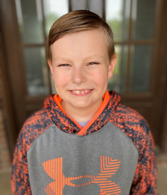 Noah Hooks - 3rd Grade