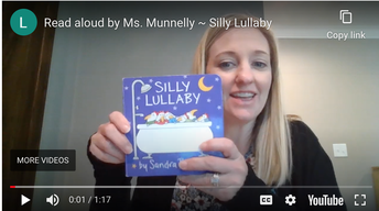 Mrs. Munnelly's Read Alouds