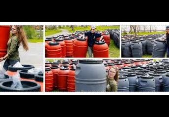 Rain Barrels Fundraiser by Parent Council