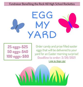 Egg My Yard - March 26th