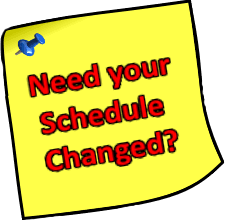 Second Trimester Schedule Changes