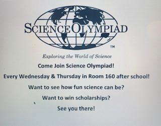 Science Olympiad Club Sponsor Dr. Contreras