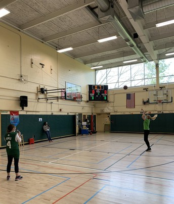 EMS Hoops for Hearts fundraiser