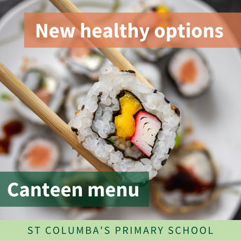New healthy options on canteen menu
