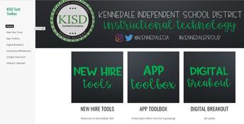 KISD Tech Toolbox