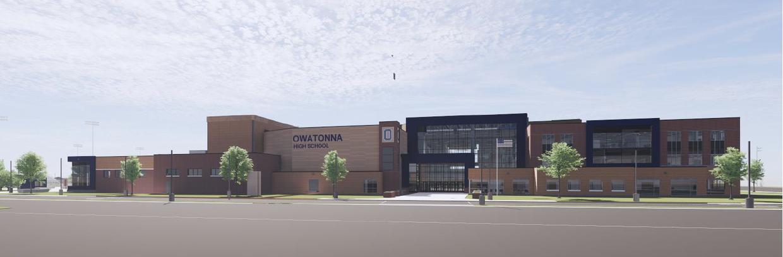 Rendering of new high school