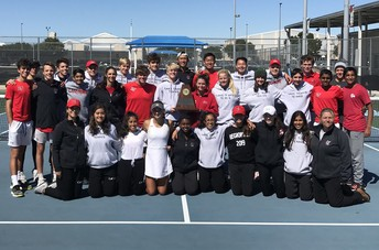 LTHS Team Tennis competes at state tourney for second year in a row