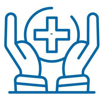Graphic to symbolize health