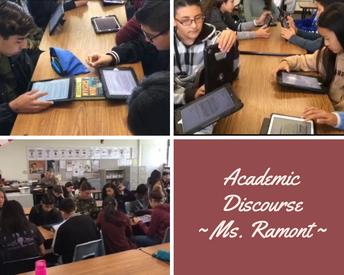 Academic Discourse 8th gr