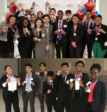 Congratulations to the following Alief ISD high school students who qualified for state competitions after competing in the Business Professionals of America (BPA) Regional Leadership Conference.
