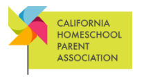 California Homeschool Parent Association (CHPA)
