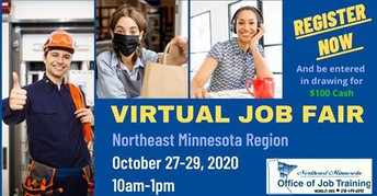 NE MN Virtual Job Fair Oct 27-29