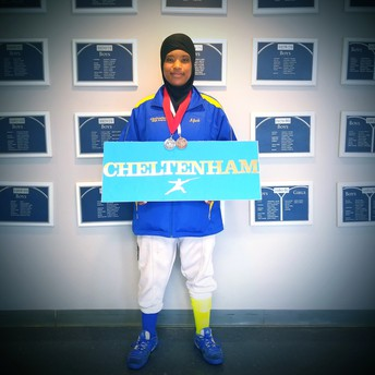 Senior Earns Multiple Medals at Inaugural Philly High School Fencing Championship