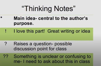 Thinking Notes - Annotation