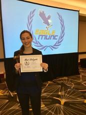 Hannah Macdonald scores highest award!