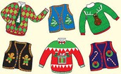 December 1 - Tacky Sweater Day