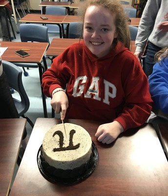 PI Day Cake Auction