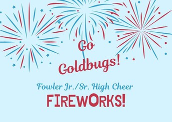 Cheer Team to sell Fireworks